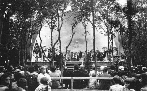 Eensgezindheid in het muziekpark te Heiloo